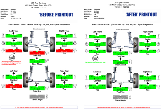 Hunter Four Wheel Alignment